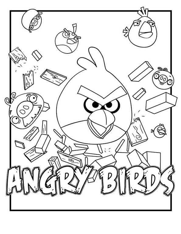 angry birds 6 ausmalen