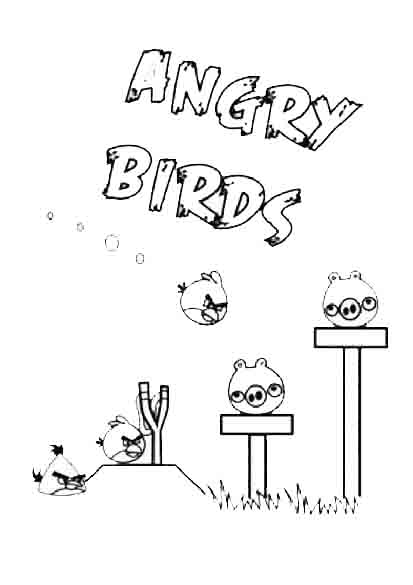 angry birds 7 ausmalen