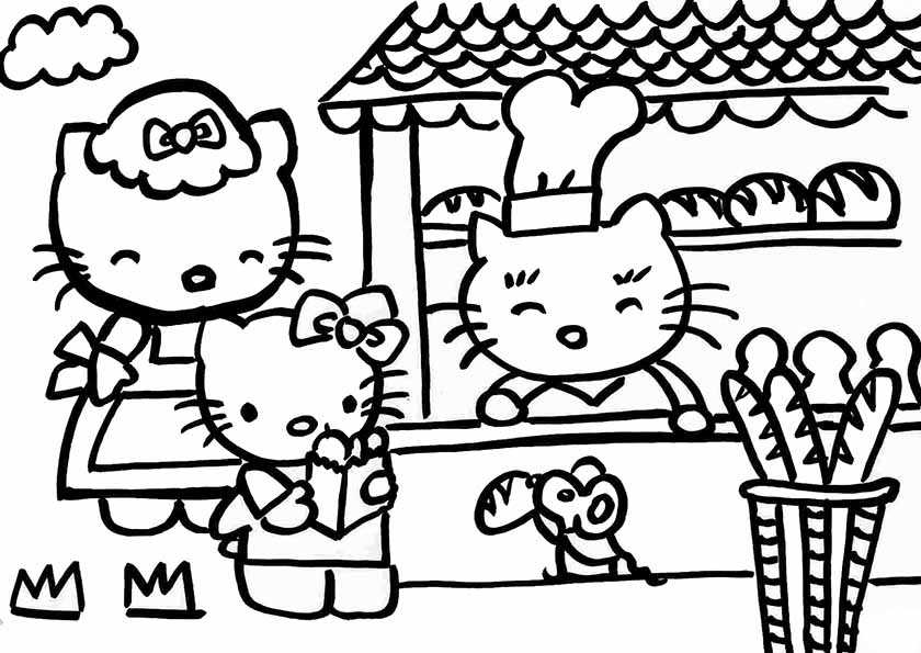 Malvorlagen Gratis Ausmalbilder Hello Kitty My Blog