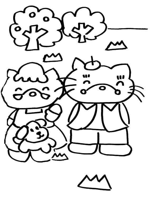 malvorlagen Hello Kitty Eltern