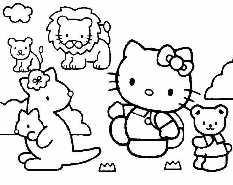 hello kitty mit freunden