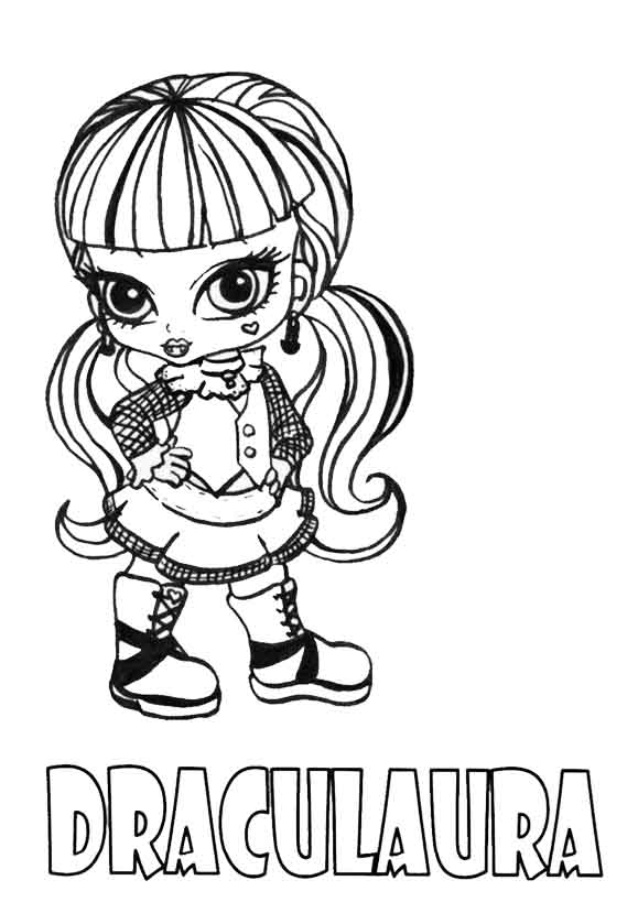 monster high draculaura baby