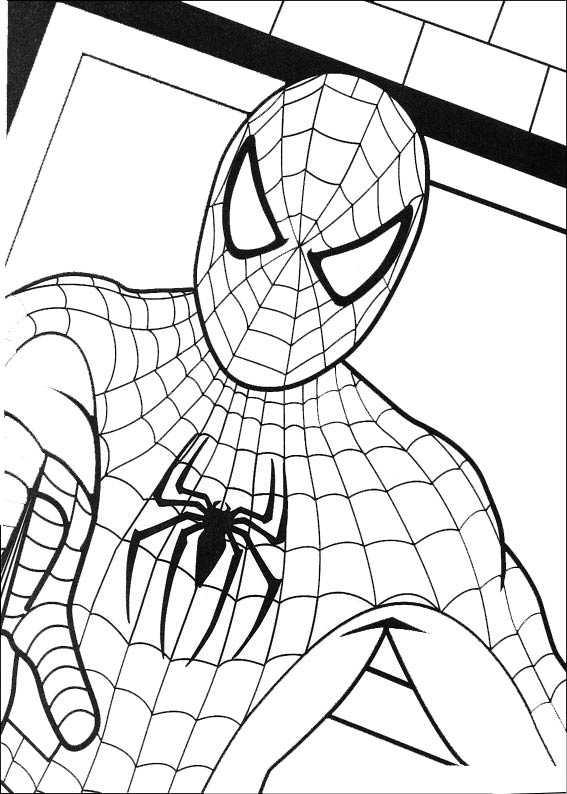 spiderman 3 malvorlagen