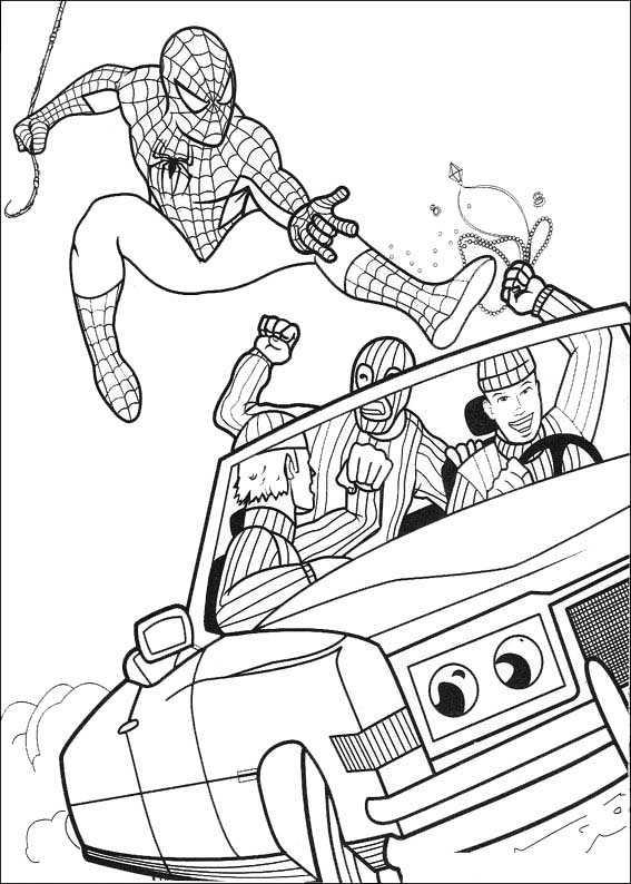 spiderman 6 ausdrucken