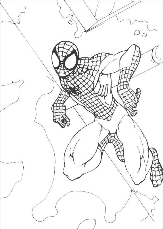 spiderman 10 malvorlagen
