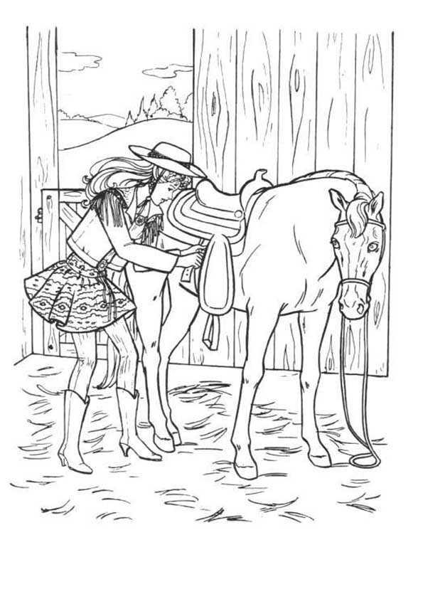 barbie mit pferde