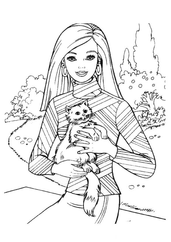 barbie und katze