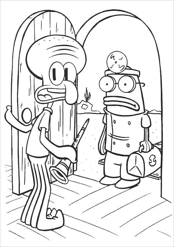 spongebob ausmalen 3