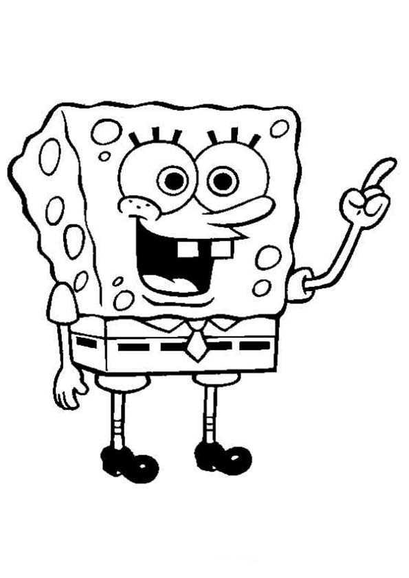 spongebob zum drucken