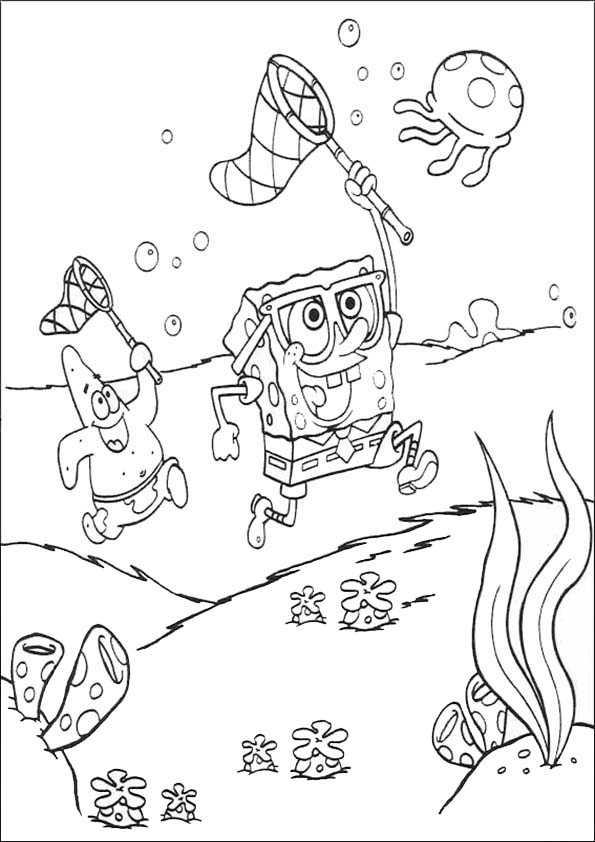 spongebob 6 malen und drucken