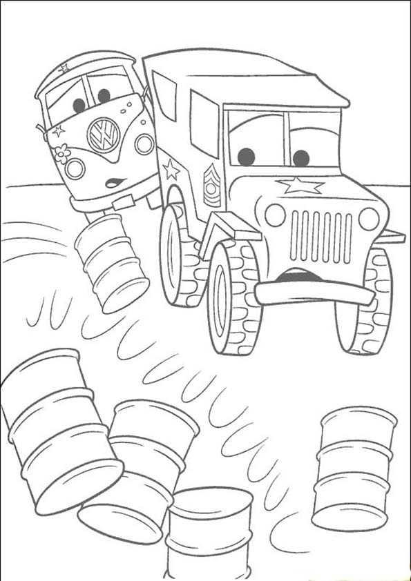 malvorlagen Cars 5