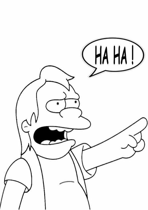 Ausmalbilder Kostenlos Die Simpsons 8 | Ausmalbilder Kostenlos