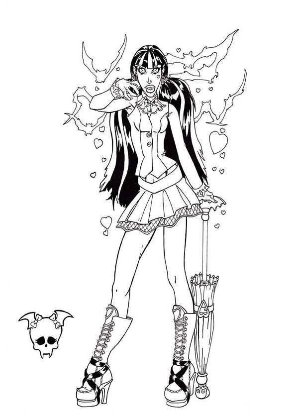 draculaura von monster high