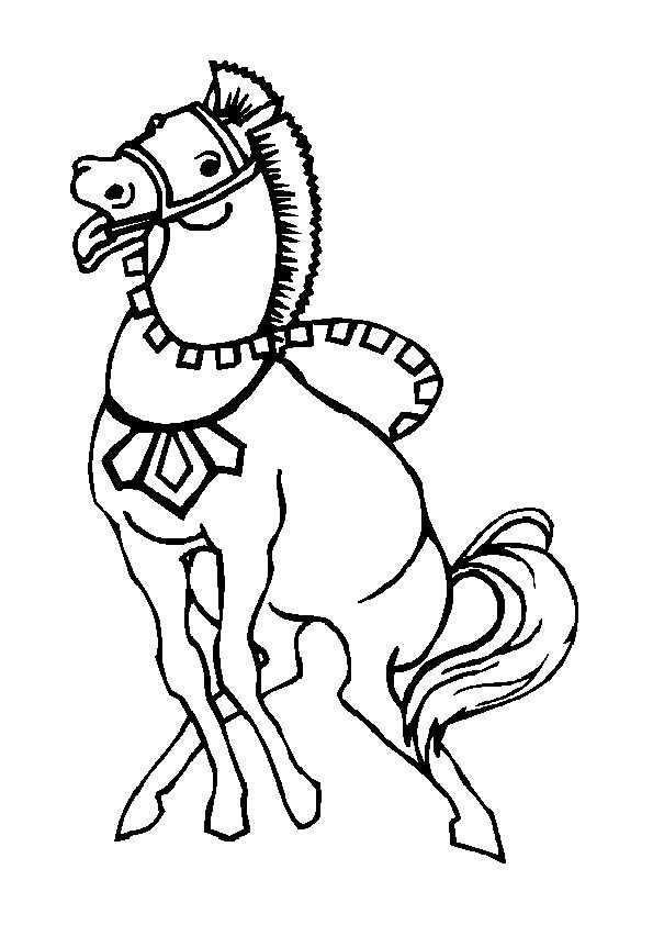 pferde 4 ausdrucken