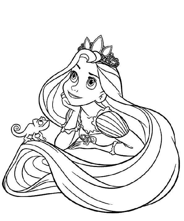 Prinzessin zum malen