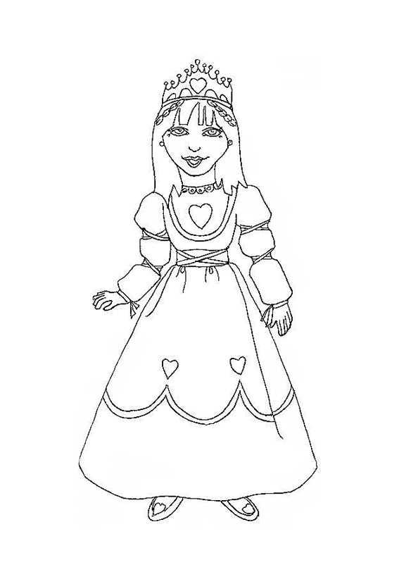 Prinzessin malvorlagen kostenlos