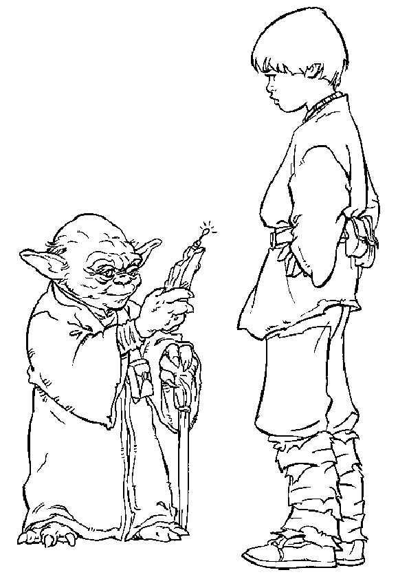 yoda und kinder von star wars