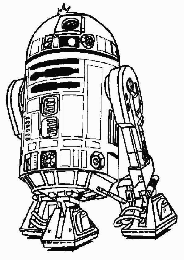 R2D2 von star wars