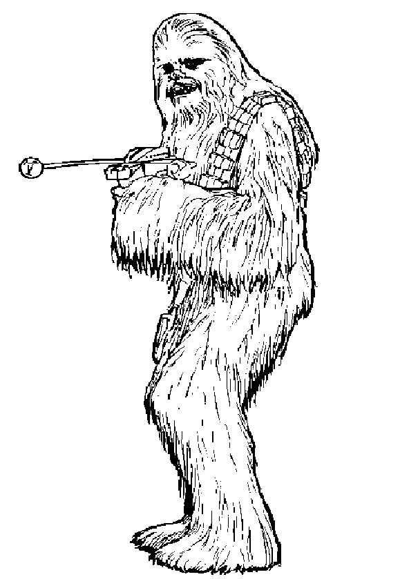 Chewbacca von Star Wars