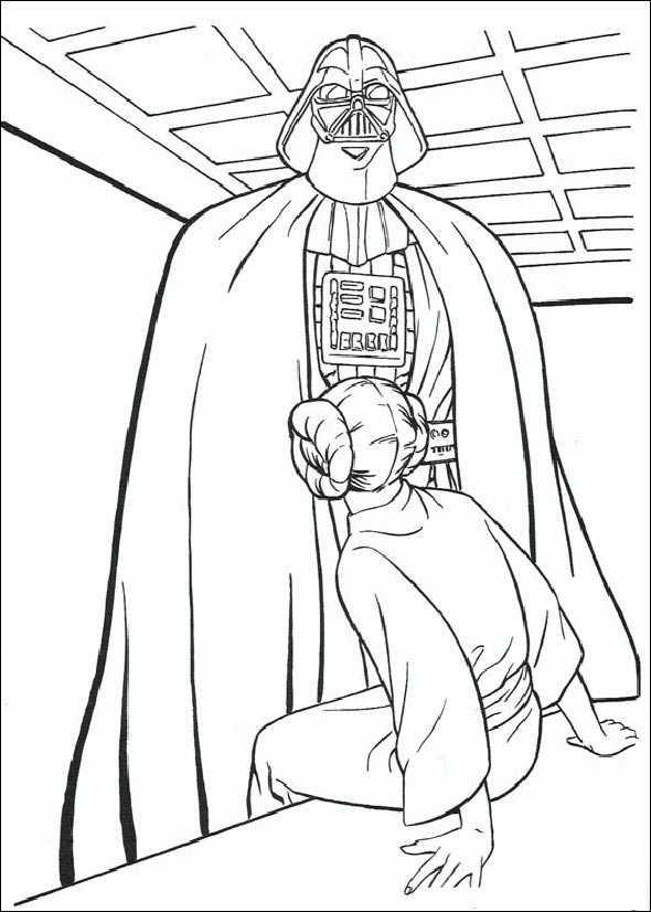 Darth Vader und Prinzessin Leia