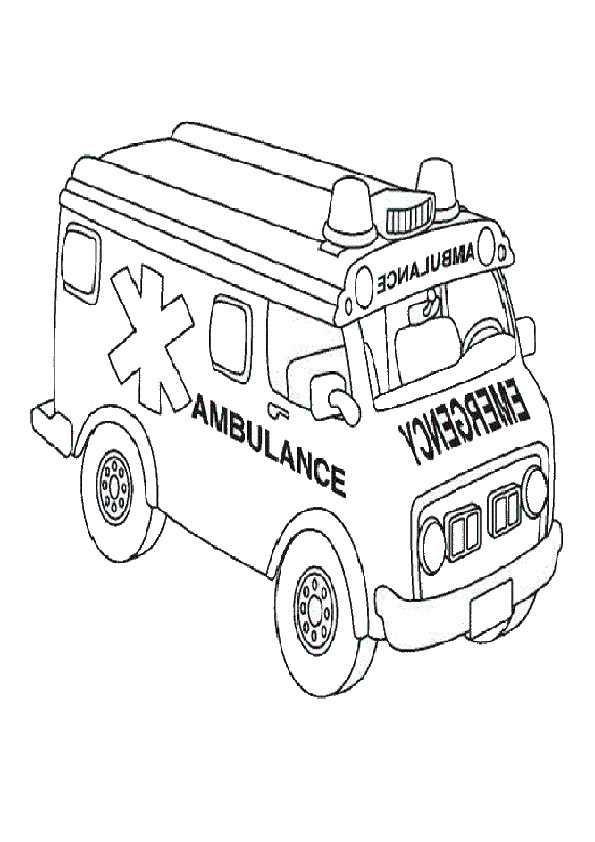 ambulanz malvorlagen