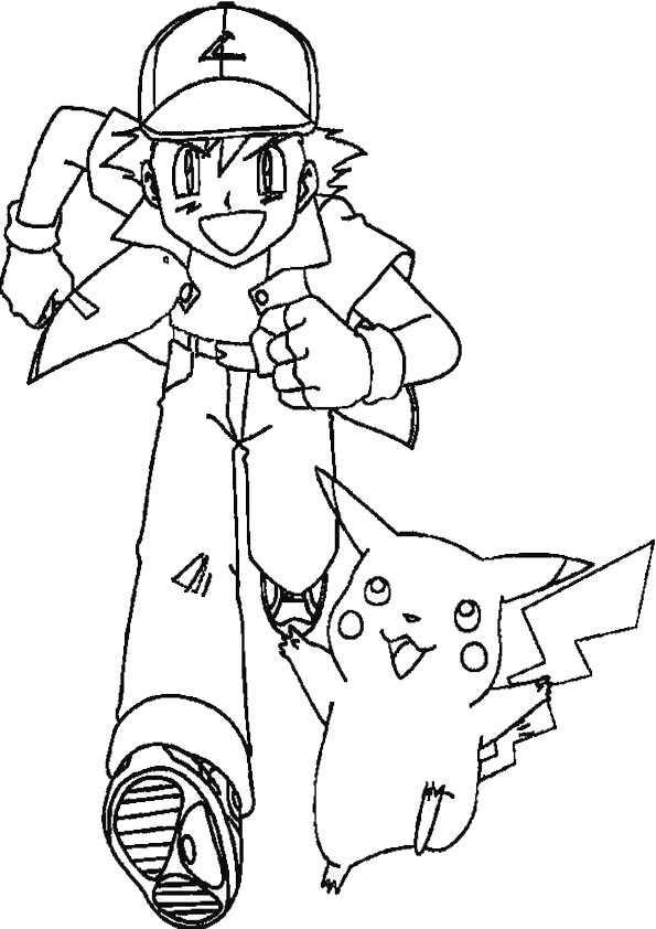 Ausmalbilder Kostenlos Pokemon