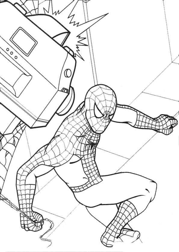 Spiderman und Kamera