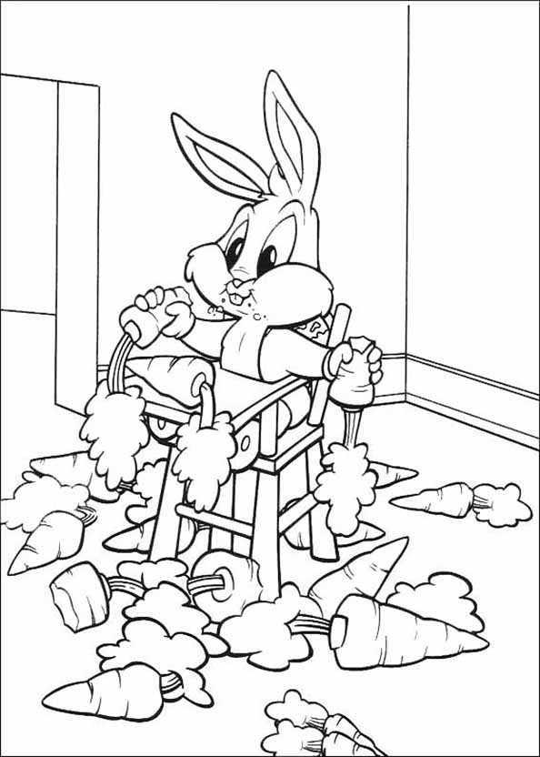 baby bugs bunny und möhren