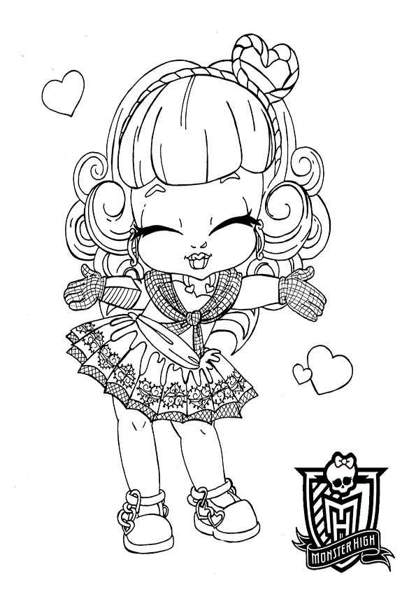 cupid baby von monster high