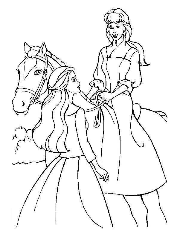prinzessin im pferde