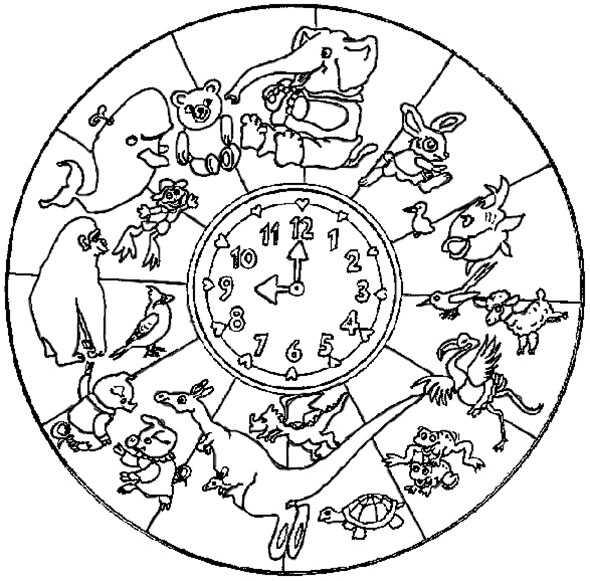 mandala mit tiere