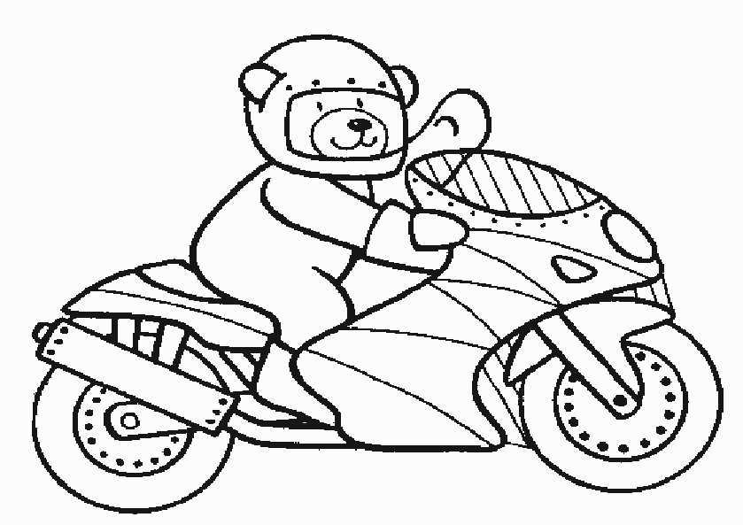 bilder 4 motorrad zum malen