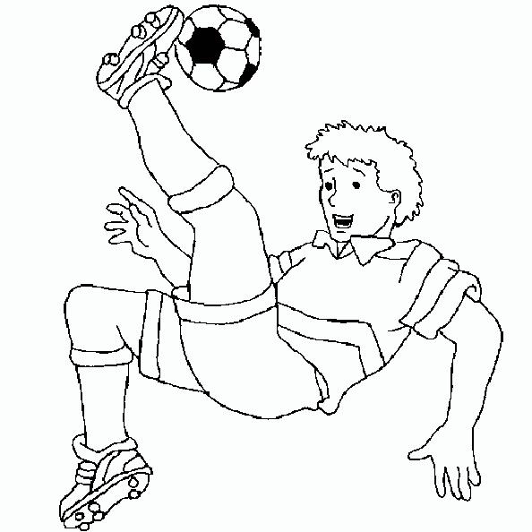 Fußballer schiesst zurück