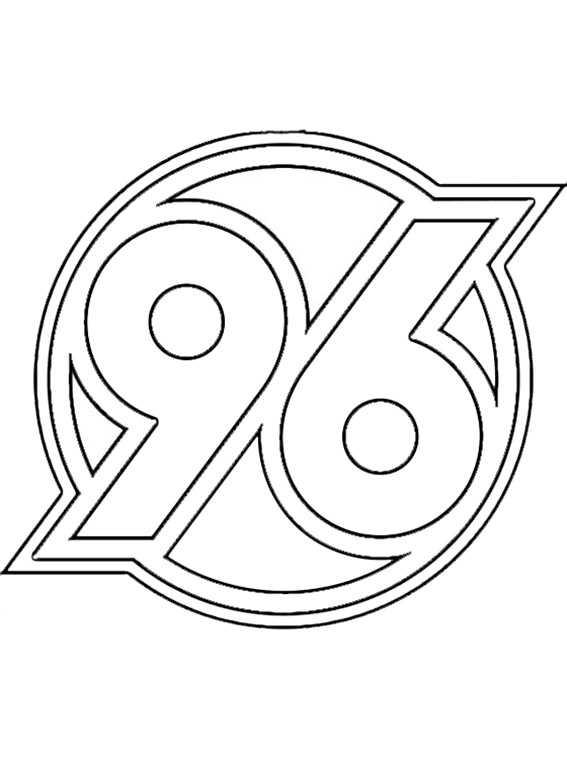 logo hannover zum ausmalen