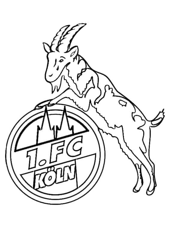FC Koln wappen zum ausmalen