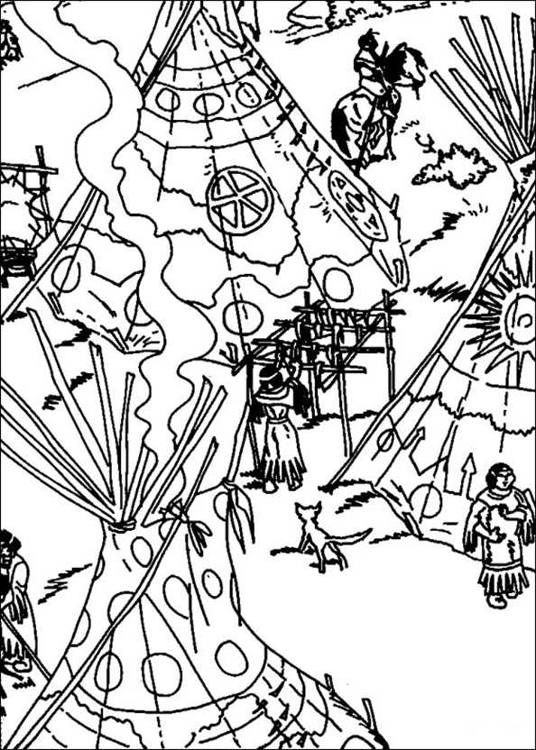 Yakari und das Indianerlager