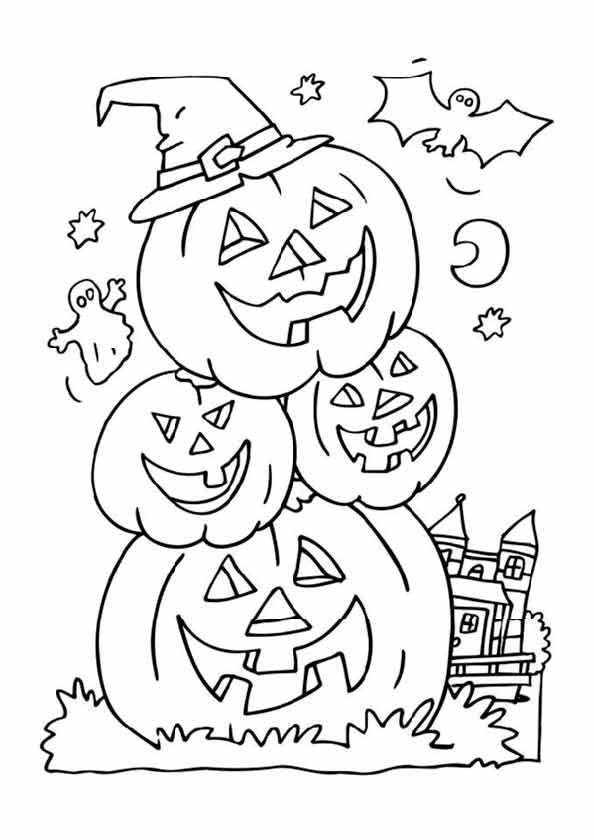 bilder 10 halloween zum ausmalen