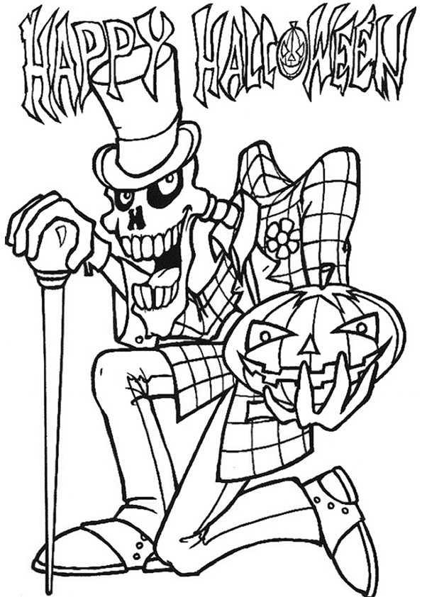 Persönlichkeit Halloween mit glückliches Halloween-Plakat