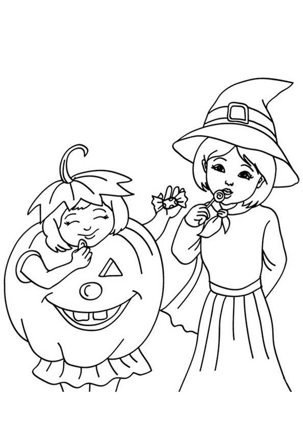 Halloween Mädchen