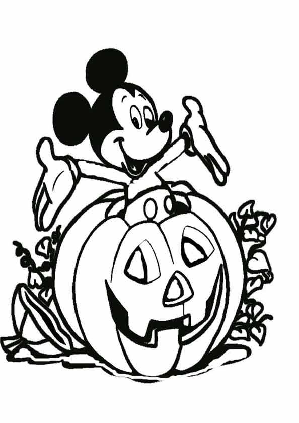 mickey im halloween