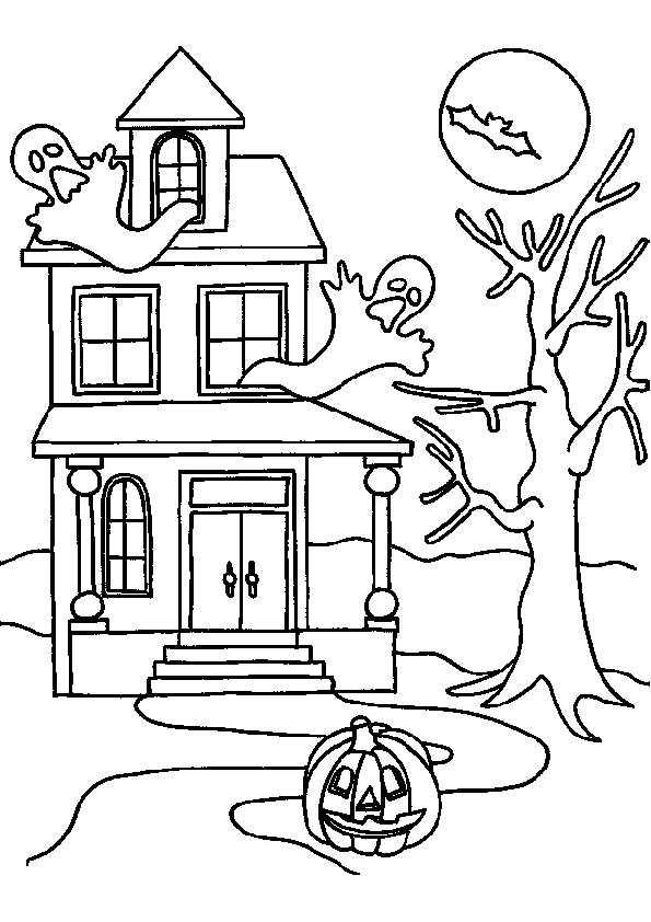 bilder 18 halloween zum malen