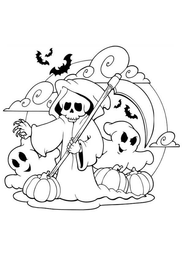 bilder 23 halloween zum malen