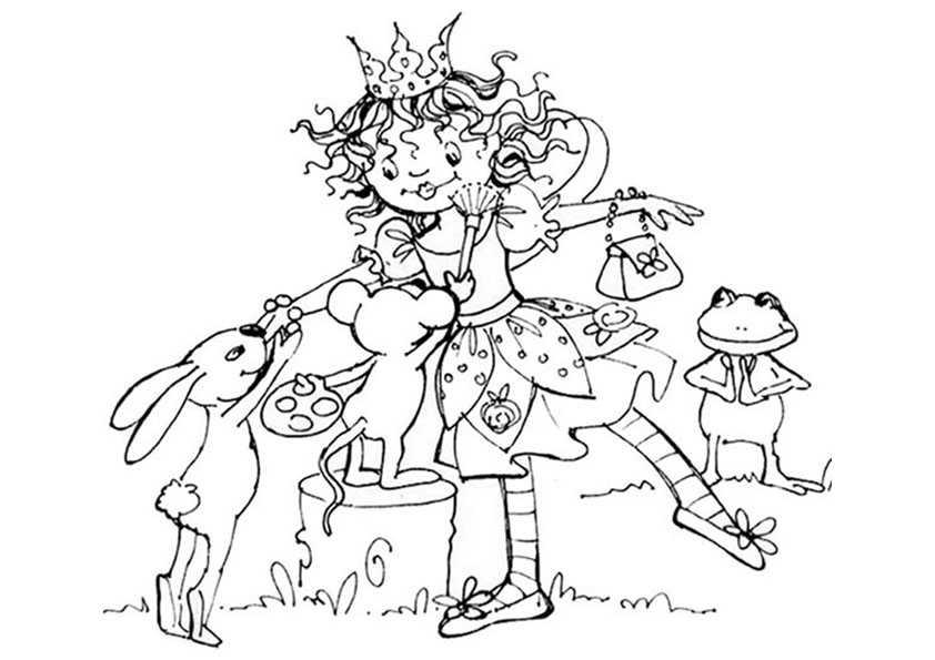 lillifee mit ihrem tierischen Freunde