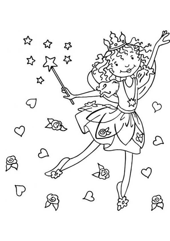Lillifee mit einem Zauberstab