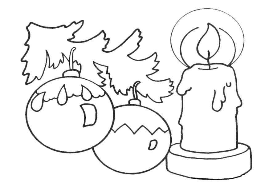 Typische Christbaumkugel