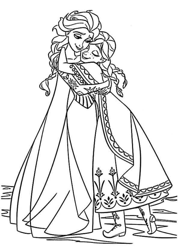 ausmalbilder kostenlos Eiskönigin 6