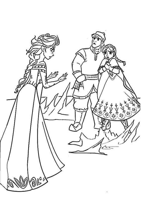 ausmalbilder kostenlos Eiskönigin 17