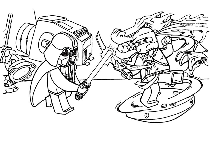 lego ninjago ausmalen 7