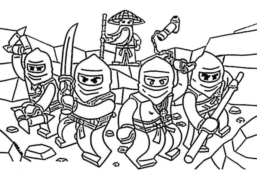 ninjago 12 zum malen