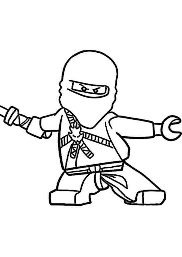 ausmalbilder ninjago kostenlos
